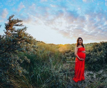 Zwangerschapsfotografie Outdoor