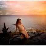 zwangerschapsfotoshoot strand