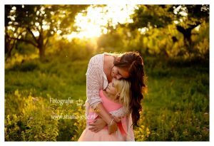 zonsondergang gezin fotoshoot