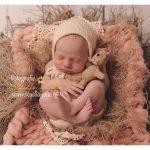 Newborn meisje fotoshoot