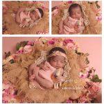 newborn shoot meisje