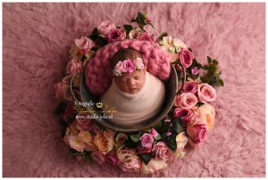newborn shoot baby