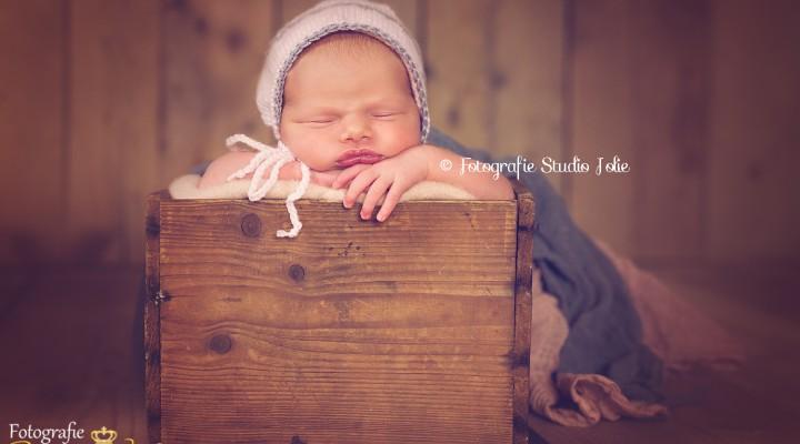 Newbornfotoshoot bij Studio Jolie