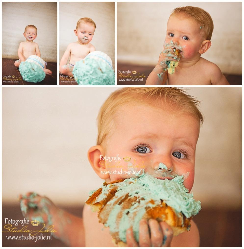 Cakesmash jongen fotografie studio jolie - Foto baby jongen ...