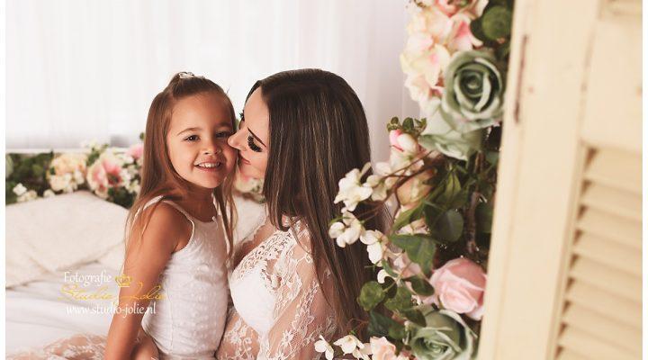 Zwangerschap fotoshoot met kinderen