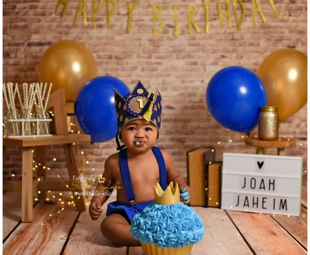 Cakesmash Royal blue thema