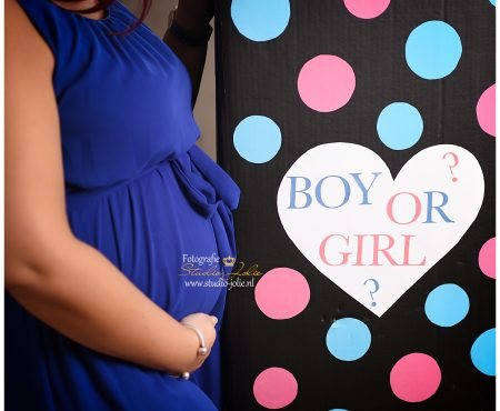 Gender Reveal fotoshoot