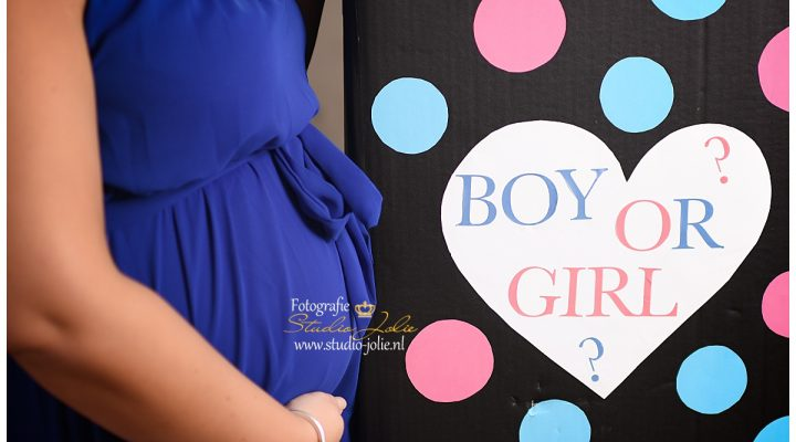 Gender Reveal fotoshoot