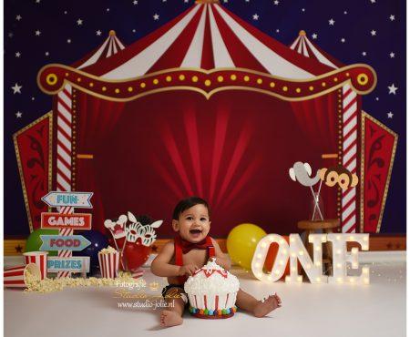 Cakesmash fotoshoot circus