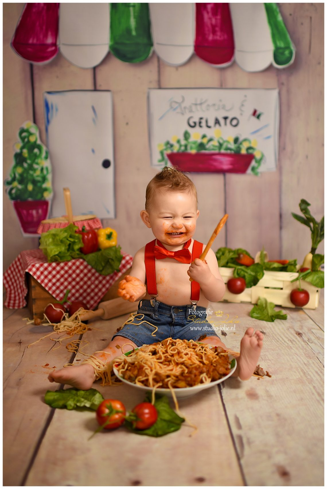 Alternatief voor Cakesmash een Spaghetti Smash
