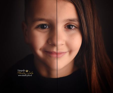 2 in 1 portret foto