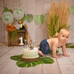 jungle thema cakesmash
