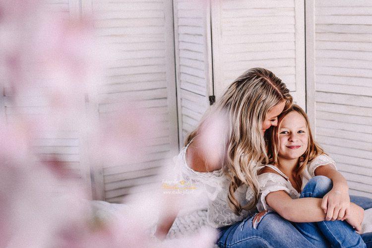 Moeder en kind fotoreportage